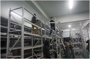 杭州西湖区搬家公司森马大型仓库整体搬